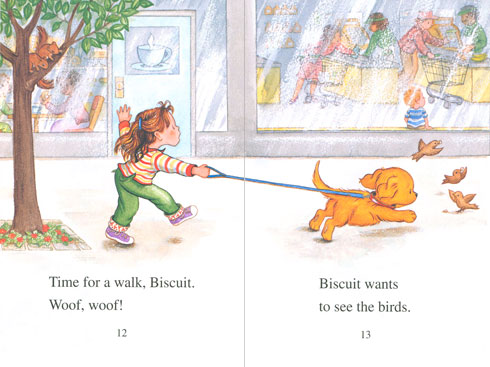 Biscuit Takes a Walk illustration